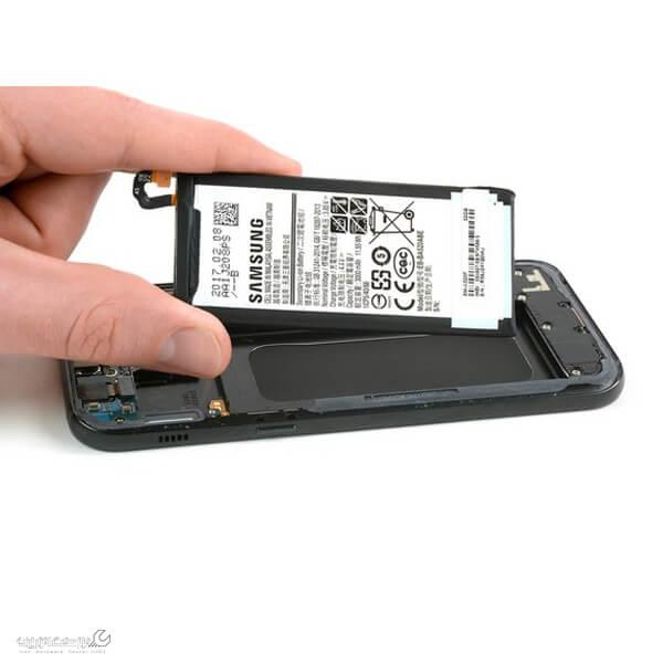 آموزش تعویض باتری موبایل سامسونگ