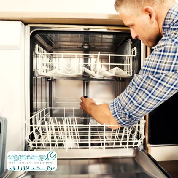 تعویض پمپ تخلیه ماشین ظرفشویی سامسونگ
