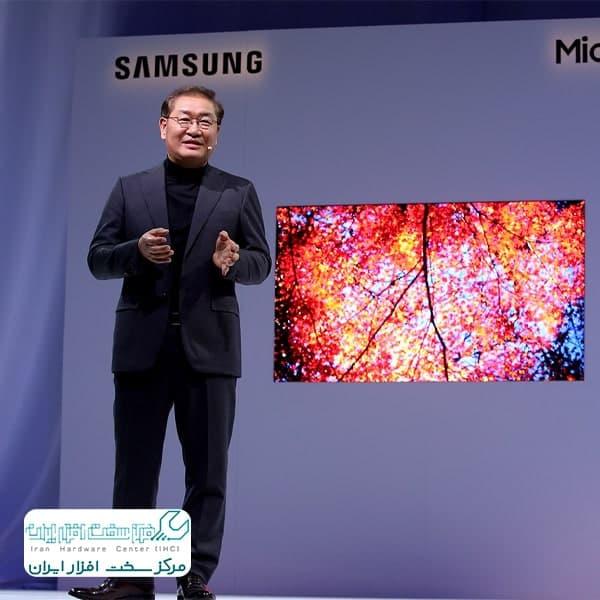 نمایشگرهای میکرو LED سامسونگ