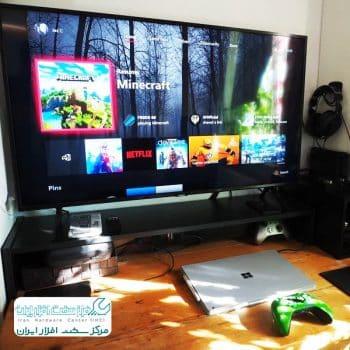 تلویزیون QLED سامسونگ مناسب بازی