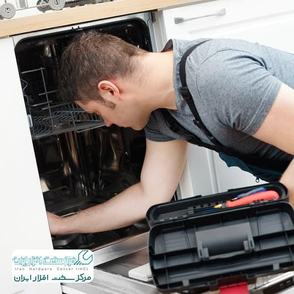 تعمیر موتور ماشین ظرفشویی سامسونگ