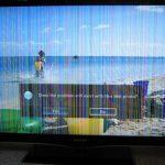 خطوط عمودی در صفحه تلویزیون LED سامسونگ